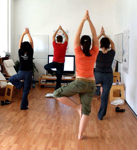 officeyoga good job..